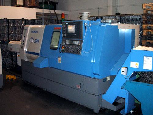 Hyundai 30M CNC Svarv med drivna verktyg